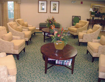 Concierge services for senior living community